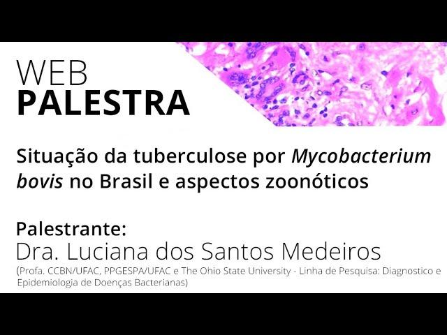 Situação da tuberculose por Mycobacterium bovis no Brasil e aspectos zoonóticos