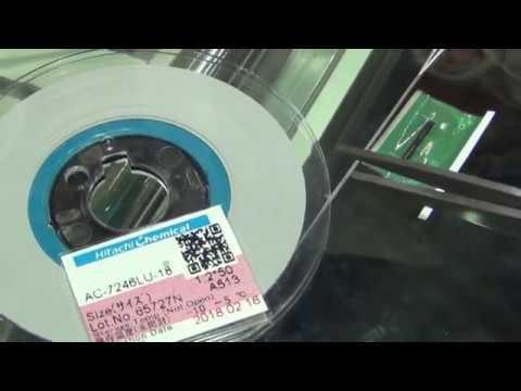 TFT LCD Bonding DEMO: How to remove TAB COF IC, Cleaning ACF Glue, Pre-Bonding ACF On TAB COF
