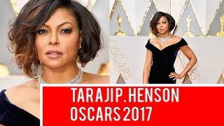 Taraji P. Henson Oscars 2017 Red Carpet