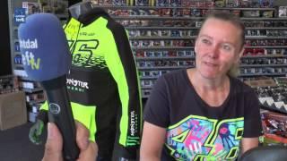 Bartine Meulenbelt fan van MotoGP coureur Valentino Rossi