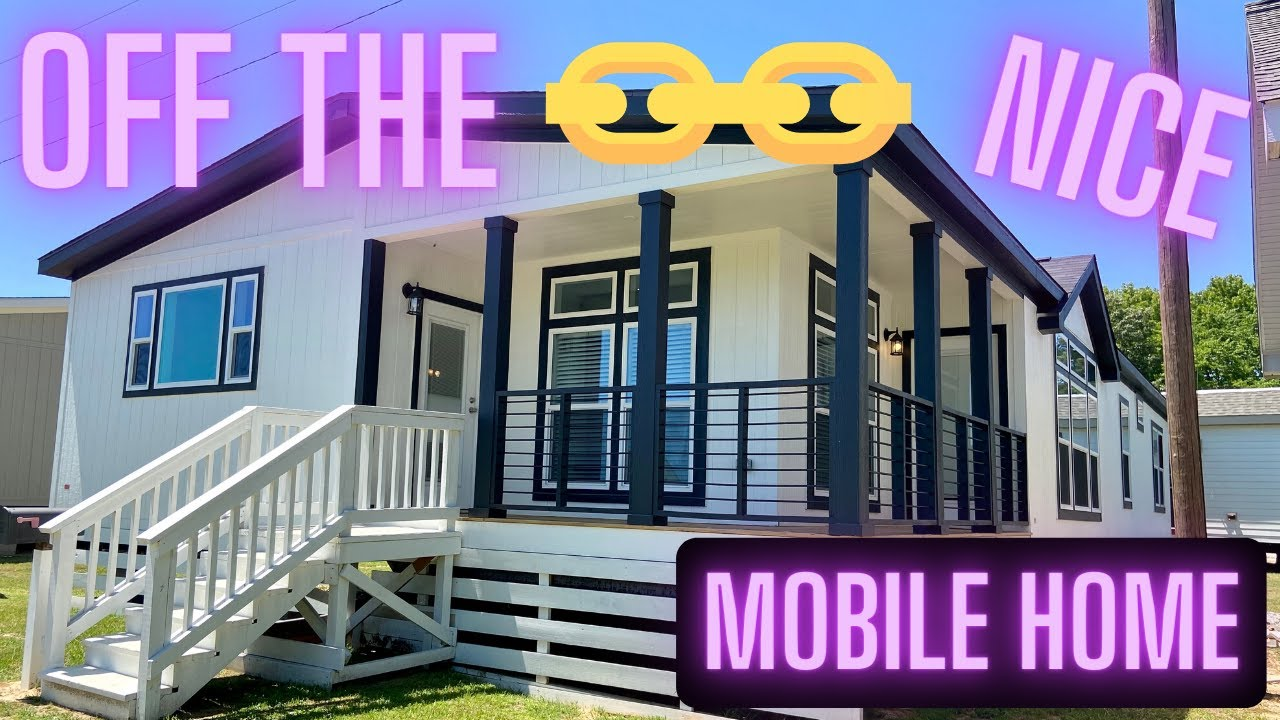 New mobile home that is off the chain!! I'm telling ya this is a double wide to see! Home Tour