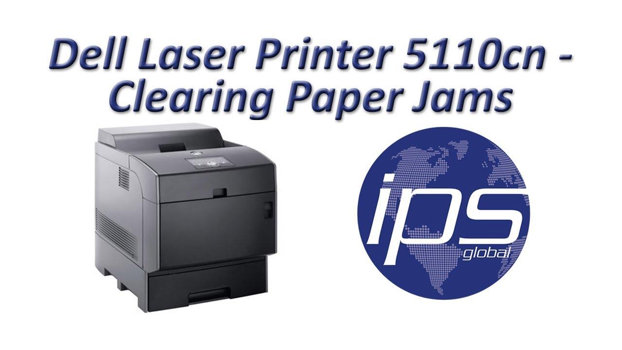 dell 5110cn clearing paper jams youtube rh youtube com dell 5110cn printer driver for windows 7 dell 5100cn printer manual