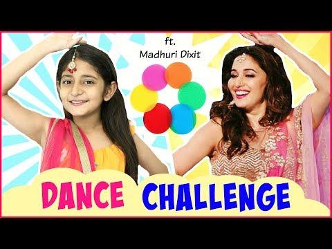 DANCE CHALLENGE Ft. Madhuri Dixit | #DanceDewane #Bollywood #MyMissAnand
