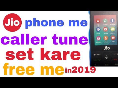 Jio Phone Me Caller Tune Kaise Lagaye||2019 Trick