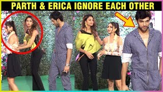 Parth Samthaan & Erica Fernandes IGNORE Each Other At Ekta Kapoor's Web Series Success Party