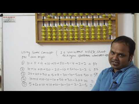 ABACUS 1ST LEVEL LONG TYPE VIDEO#do Not Fear To Long Question