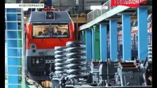 Новые четырехсекционные локомотивы «Ермак»