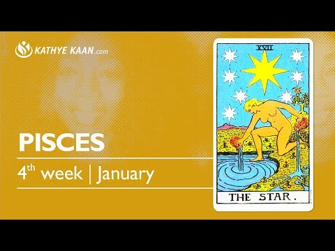 PISCES PSYCHIC TAROT READING | WEEKLY HOROSCOPE | Week 04 | JANUARY 21 -27