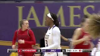 Highlights   JMU Women's Basketball vs. Northeastern