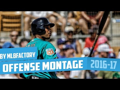 Robinson Cano 2016 Spring Training Offense Highlights Montage