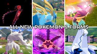 All New Pokémon & Forms (Normal+Shiny) - Pokémon Sword and Shield
