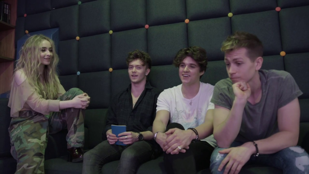 CM EXCLUSIVE: The Vamps interview Sabrina Carpenter for ... The Vamps Bradley Simpson