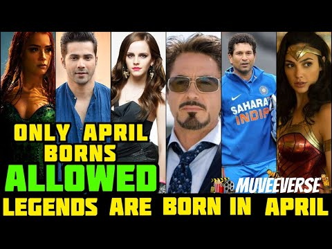Famous People Born In April(top 30)|MUVEEVERSE