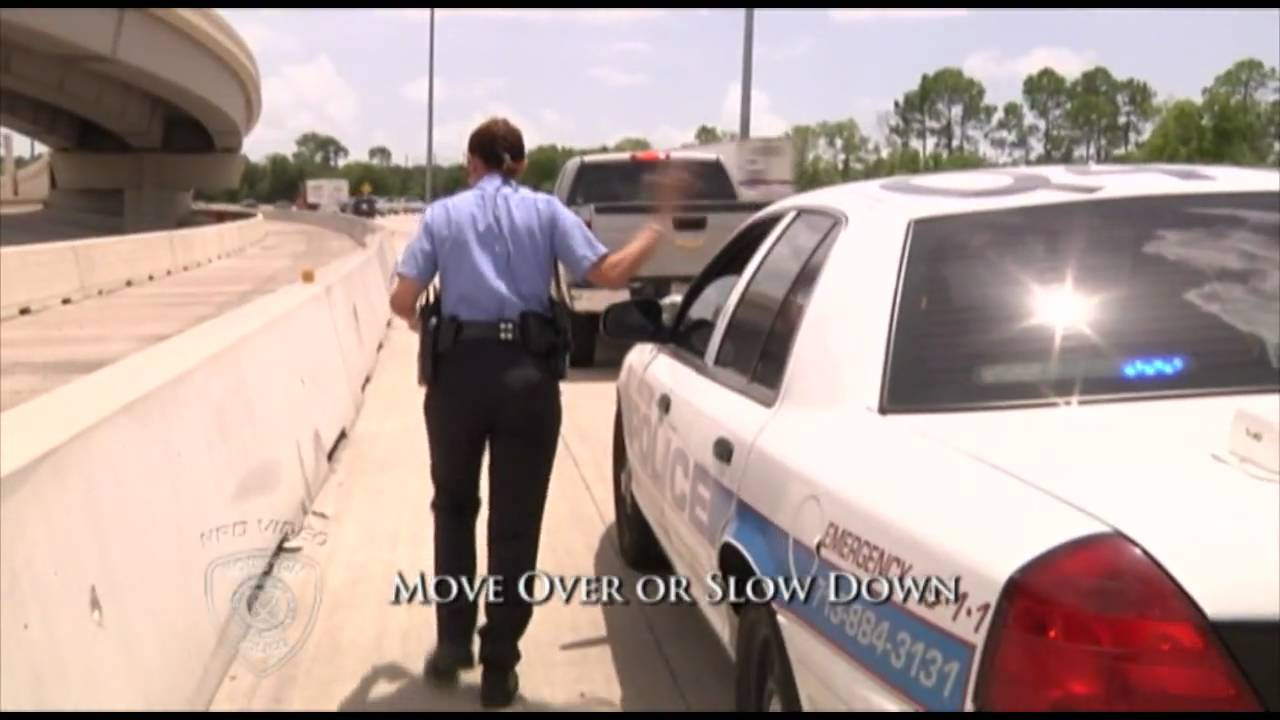 Download Move Over or Slow Down (Houston Police Department, HPD Video Production, CG)