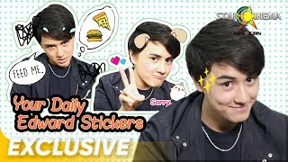 Your Daily  Edward Stickers | Exclusive with Edward Barber