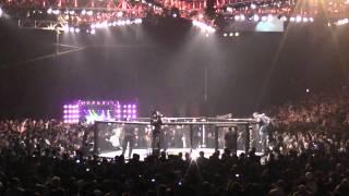 Fedor entrance at Strikeforce Fedor vs Rogers
