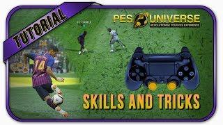 PES 2019 All Skills Tutorial [PS4]