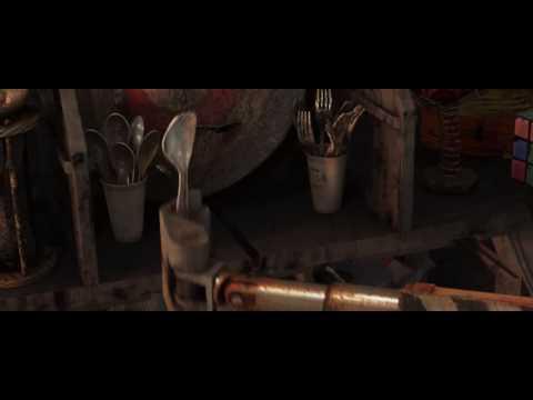 Wall-E (2008) Cute Scene HD