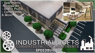 Roblox Bloxburg | Industrial Lofts - Converted Factory Apartments