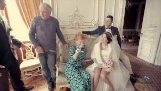 Свадьба зимой - видеосъемка за кадром