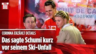 Neue Details: Was Schumi Corinna kurz vor seinem Unfall sagte