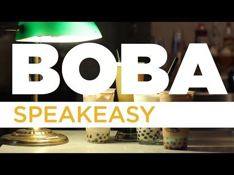 This Speakeasy Serves Insane Booze-Filled Boba Tea Drinks [WATCH]