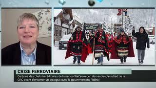 Blocus ferroviaire : la réponse du gouvernement Trudeau – Daniel Béland et Geneviève Tellier