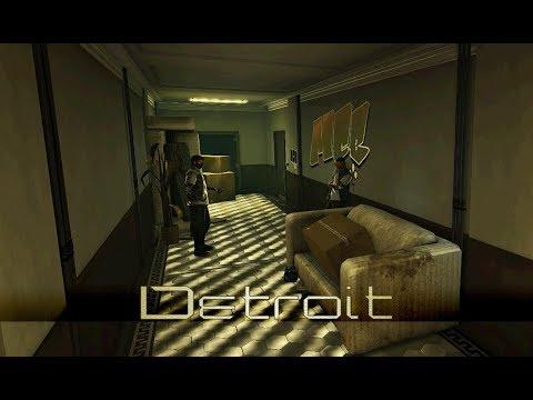 Deus Ex: Human Revolution - Detroit Downtown Apartments (1 Hour of Music)