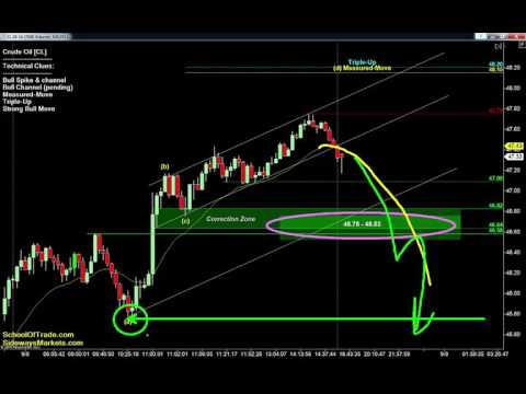 Friday's Trading Strategy | Crude Oil, Gold, E-mini & Euro Futures 09/08/16