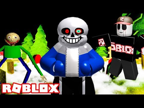 ROBLOX THE SCARY MANSION *SANS UPDATE*
