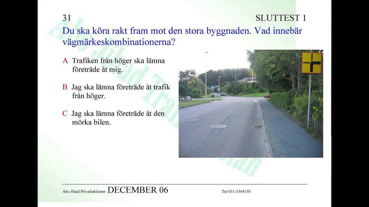 körkortsfrågor moped