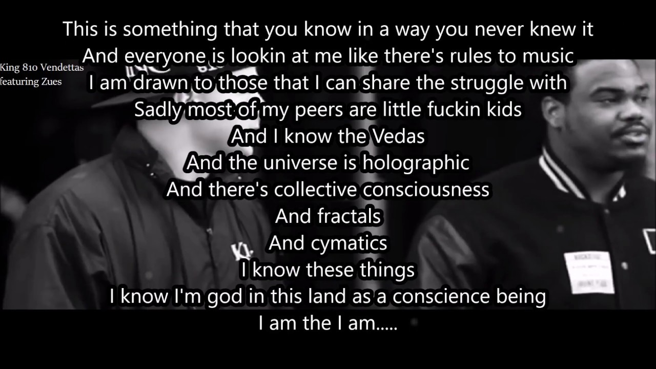 Vendettas By King 810 Featuring Zeus Lyric Video Youtube