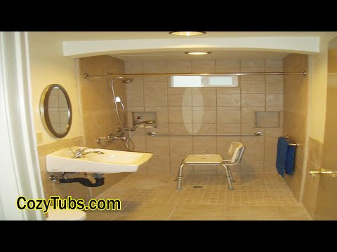 The Best Ada Bathroom Layout In West Hollywood, CA, USA