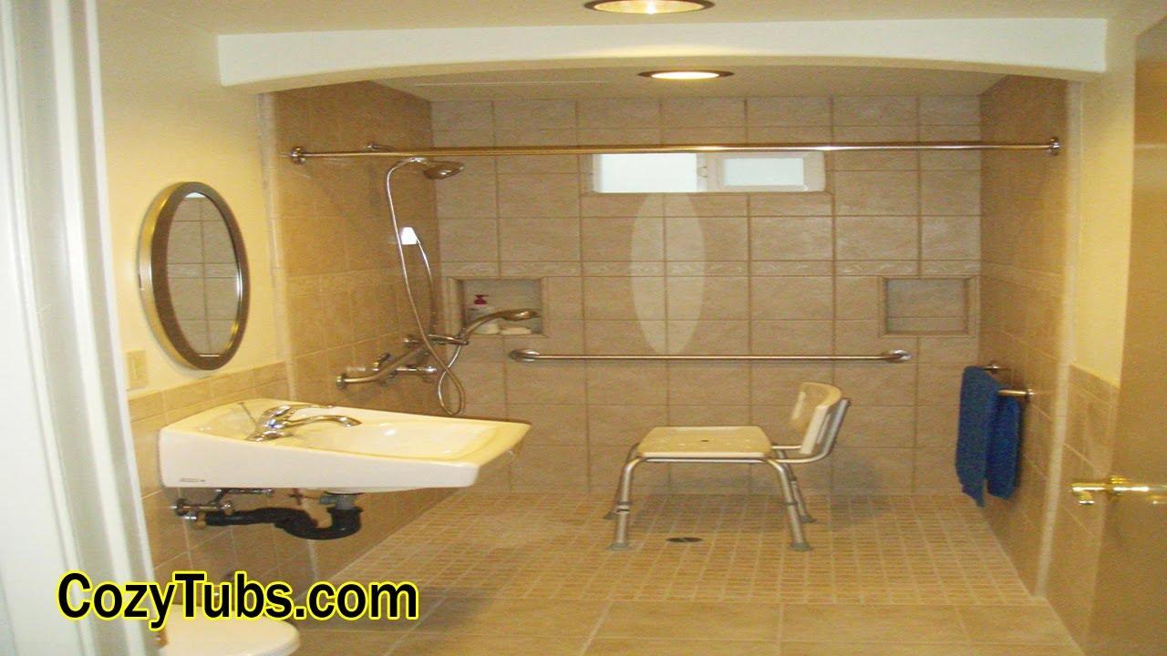 The Best Ada Bathroom Layout In West Hollywood, CA, USA ...