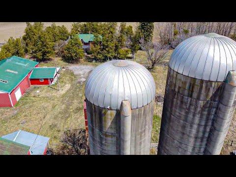 Abandoned Farmhouse Built 140 Years Ago And Farm Explored. Ontario, Canada Explore #47