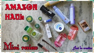 amazon haul under 250 mini review biotique new kiss beauty flocare serum miss claire maybelline pac