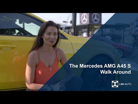The Mercedes AMG A45 S Walk Around