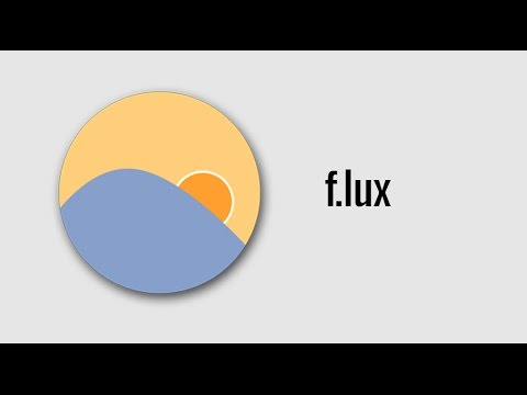 Flux || A software which filters blue screens and protect your precious eyes from harmful rays.