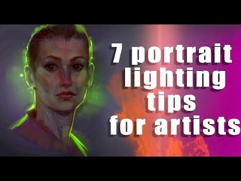 Create Lighting for Portraits On the Fly (for artists)