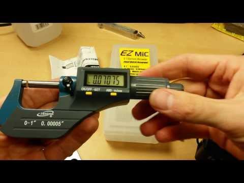 "(:UnBox & Review:) iGaging EZMic Digital Micrometer ~Absolute Origin, .00005"" Resolution"