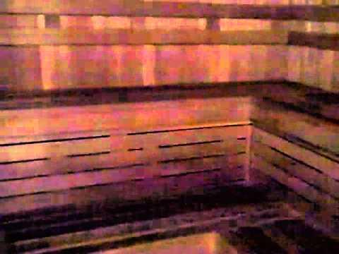 Sauna room at la fitness club youtube