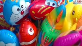 Balonku Ada Lima - DrumBand, Mainan Anak Balon Pokemon, Masha, Boboiboy, Upin Ipin, Doraemon