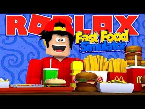 ROBLOX - ROPO GETS SUPER FAT IN THE FAST FOOD SIMULATOR ...
