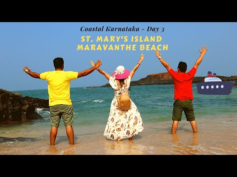 You Just Cannot Miss Them || St. Mary's Island || Maravanthe Beach || Coastal Karnataka || Day 3
