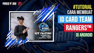 Cara Membuat ID Card Game Esport Seperti Rangers Team diAndroid | Infinite Design
