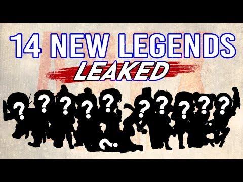 В файлах игры Apex Legends обнаружено 14 новых героев
