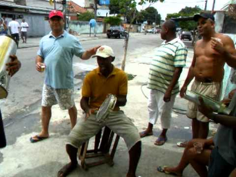 vera verão filmando o samba da galera