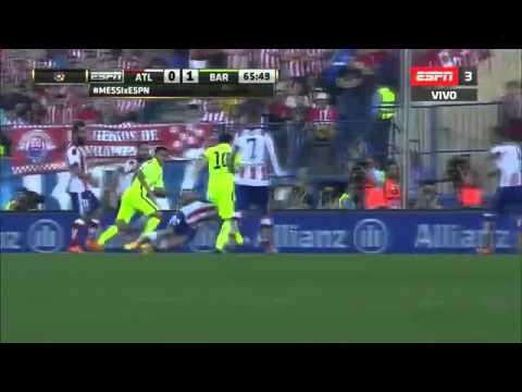Atletico de Madrid 0 - 1 Barcelona LIGA BBVA 2015 - ESPN ´´BARCELONA CAMPEON
