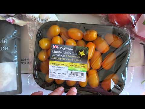 WAITROSE GROCERY HAUL - JUNE 2015 | Charlotte Taylor