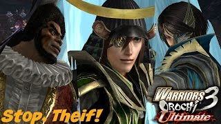 Warriors Orochi 3 Ultimate / Stop, Theif! (Commentary) (PS4)